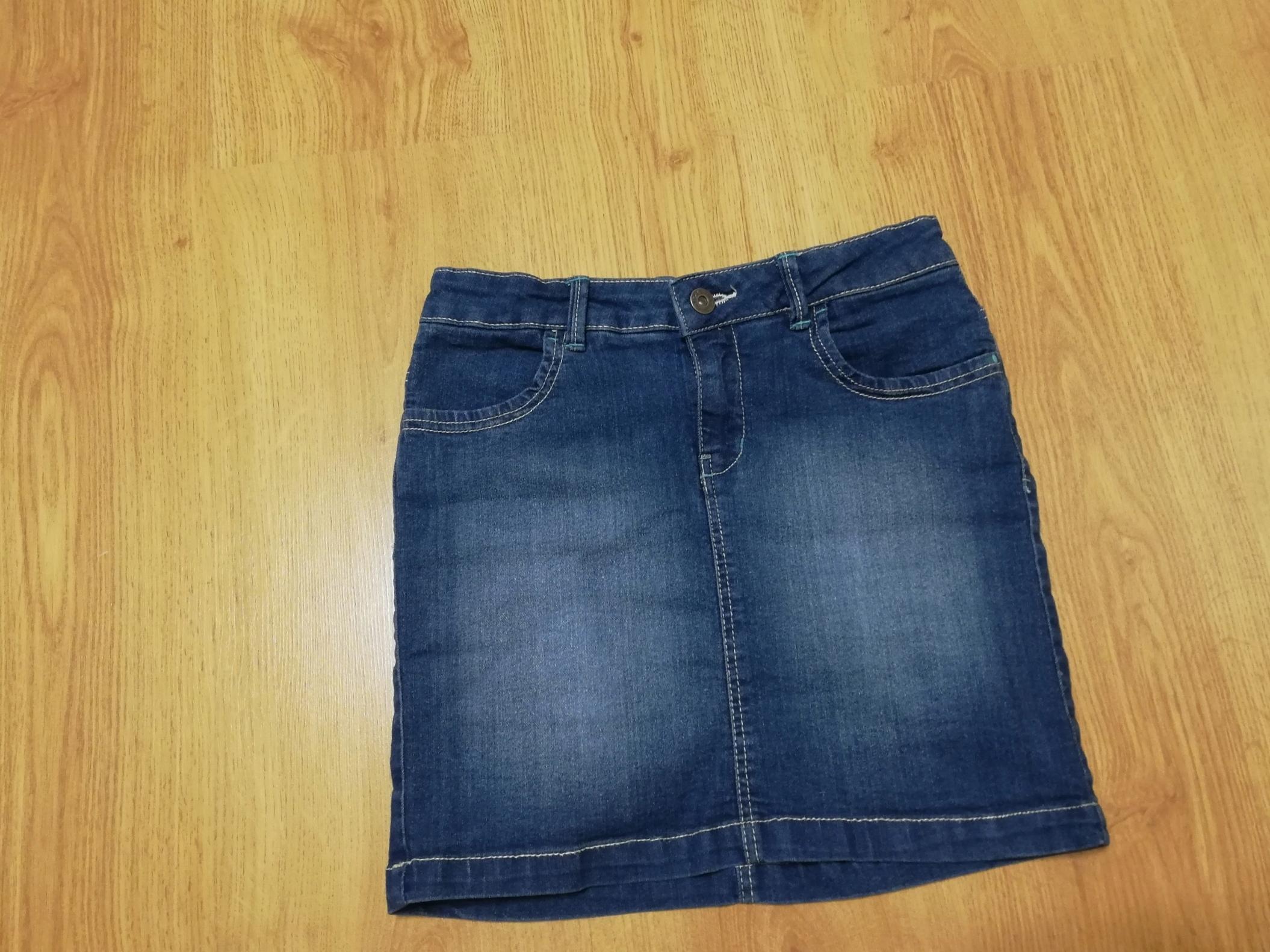 Spódniczka jeansowa cool club rozmiar 140