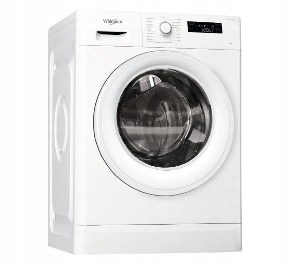 Pralka Whirlpool FWSF61052W Od Przodu A++ Biały