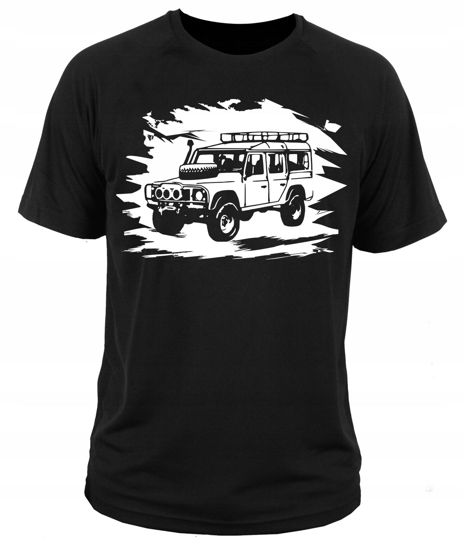 koszulka t-shirt DEFENDER offroad 4x4 90SV XXL