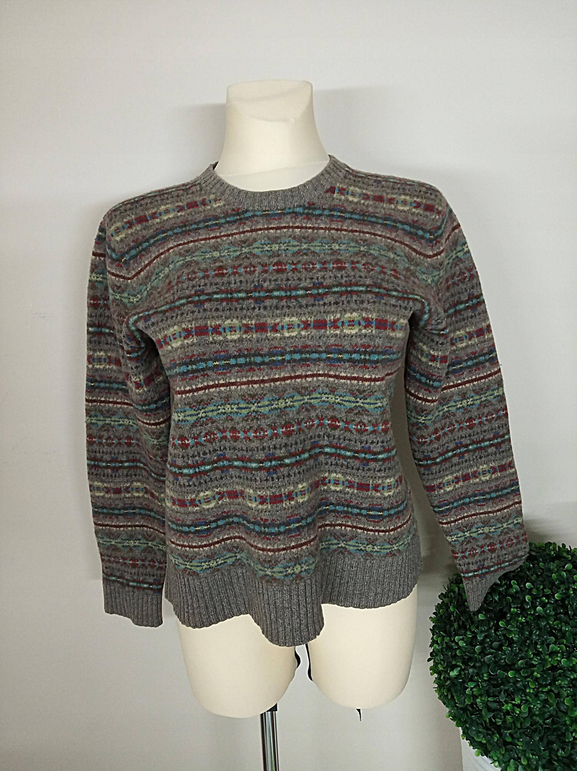 Swetr sweter POLO RALPH LAUREN XL 100% Wełna góry