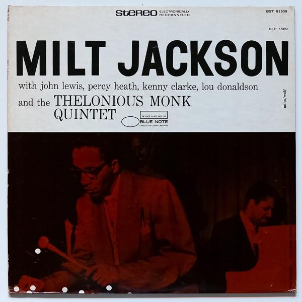 MILT JACKSON & THELONIOUS MONK - USA 1975 EX