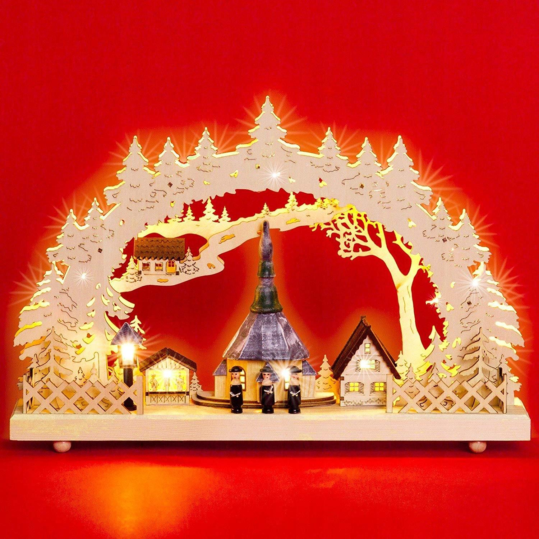 441F4 Sikora LB60 stroik świąteczny LED 43cm