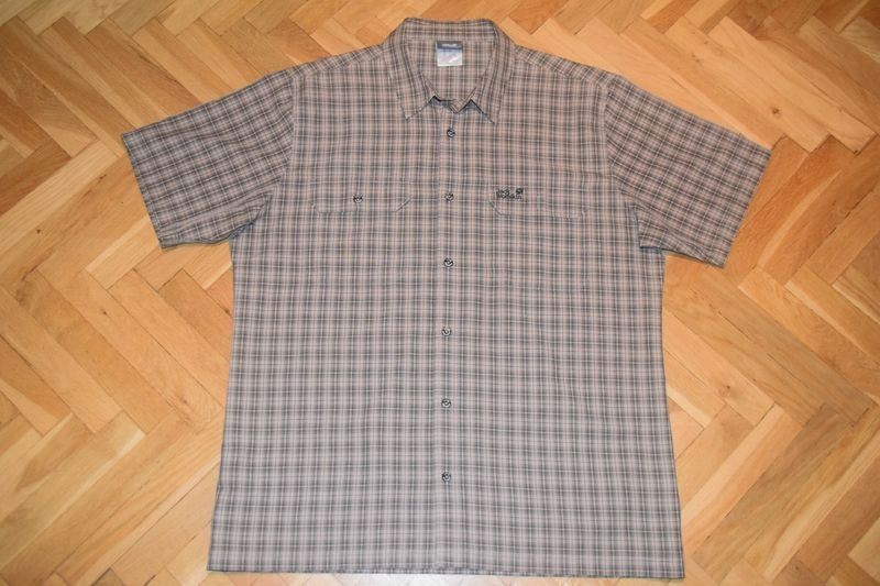 JACK WOLFSKIN męska koszula trekkingowa ~ XL / XXL