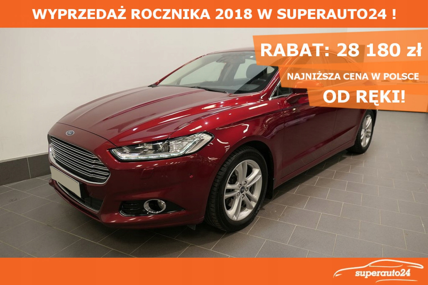 Ford Mondeo 1.5 EcoBoost 165KM