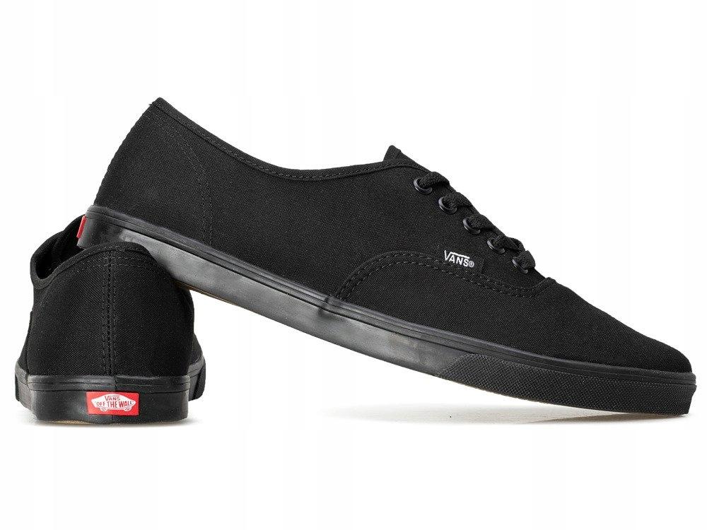 Czarne trampki sportowe buty VANS VANSY tenisówki