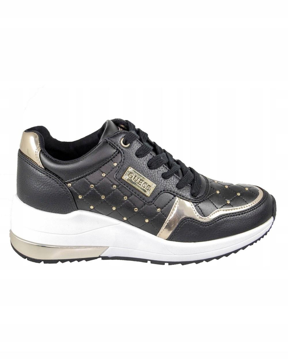 Sneakersy GUESS FL6JTTELE12 czarny r40 8082865546