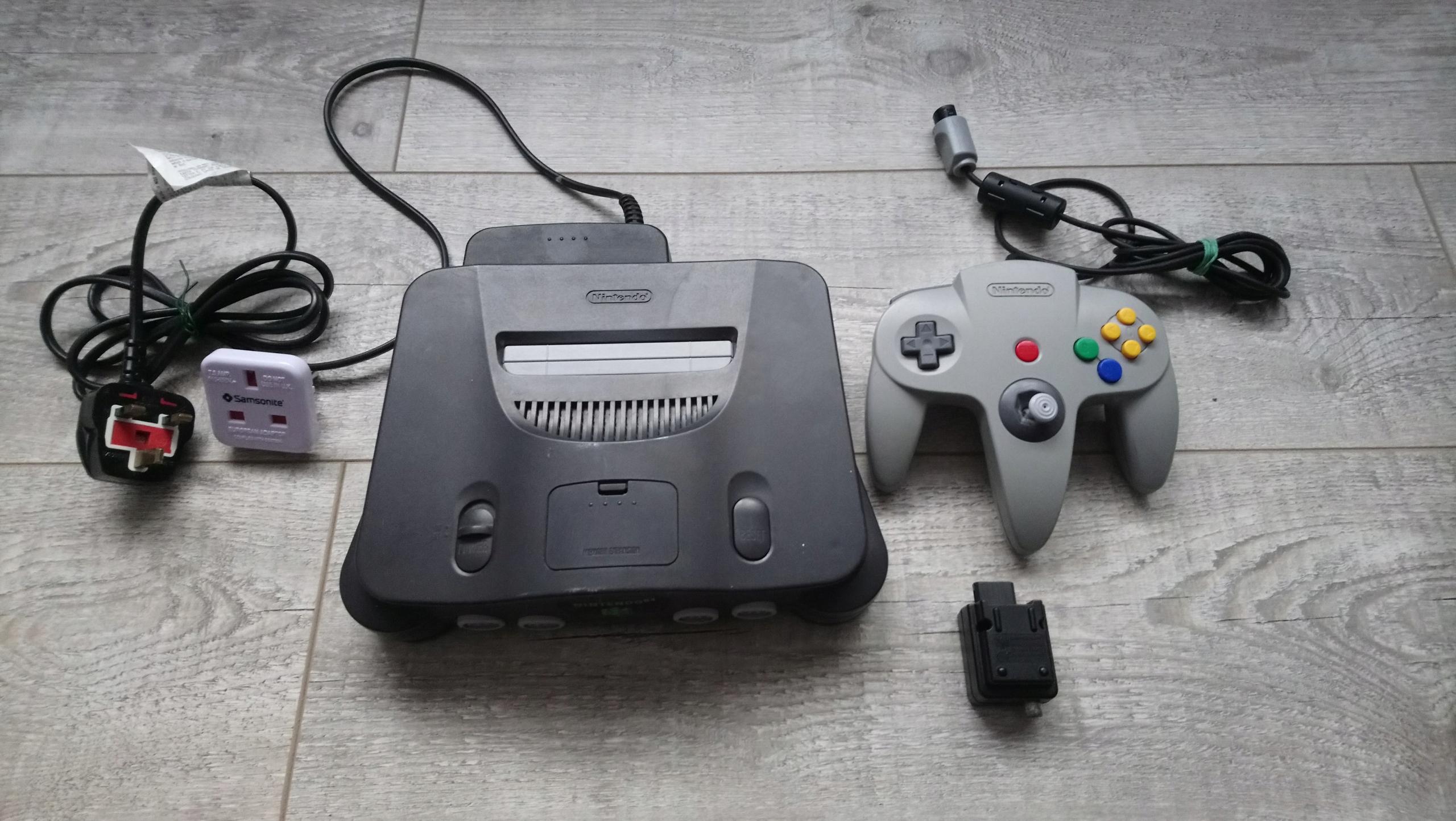 Konsola NINTENDO 64 N64 od 1zł JAPAN