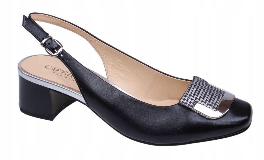 Sandały damskie Caprice 9-29500-22 czarne R.38