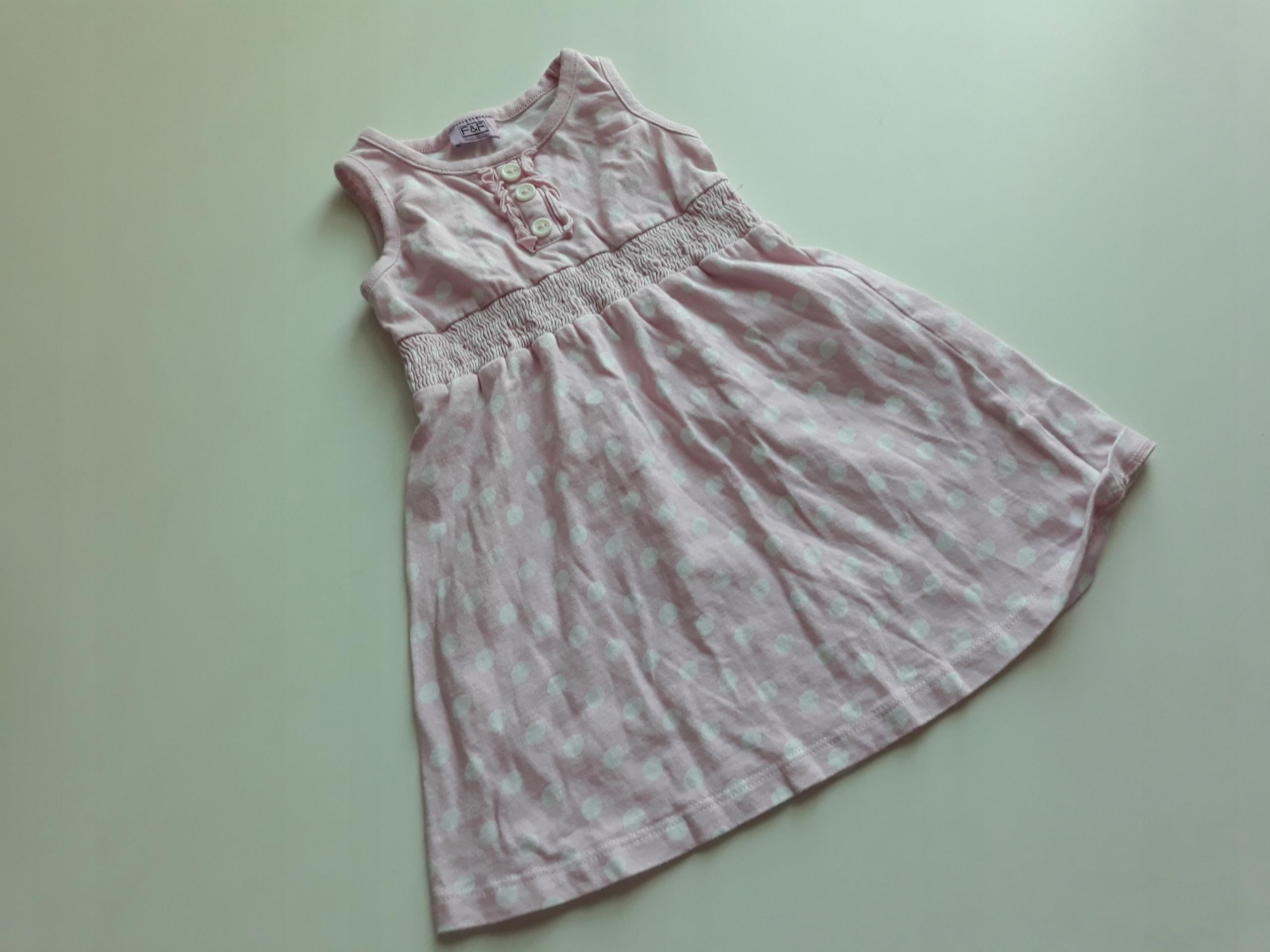 agastyl FF sukienka w grochy 86