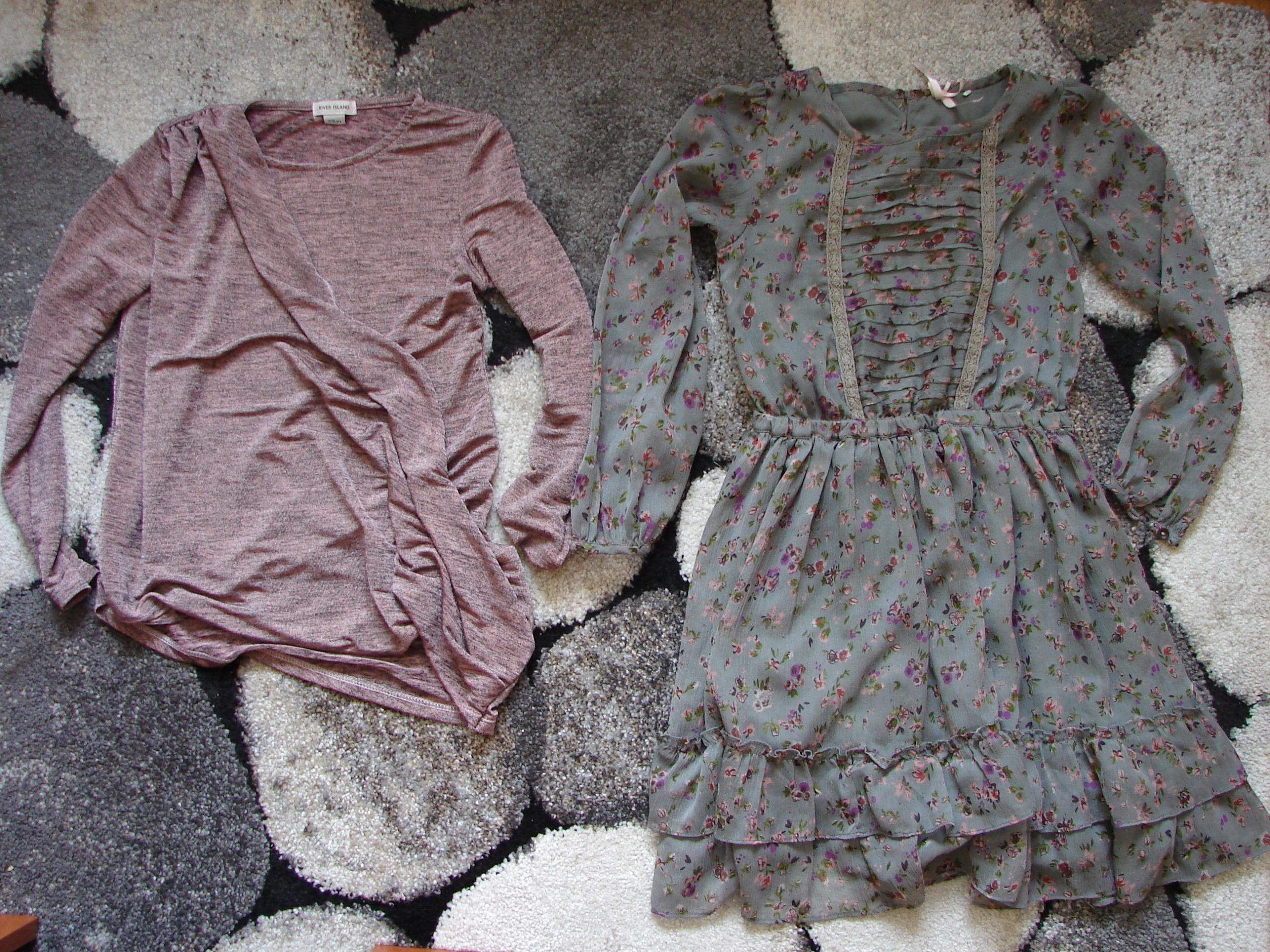 Next_ sukienka+bluzka _ boho_ 7-8lat