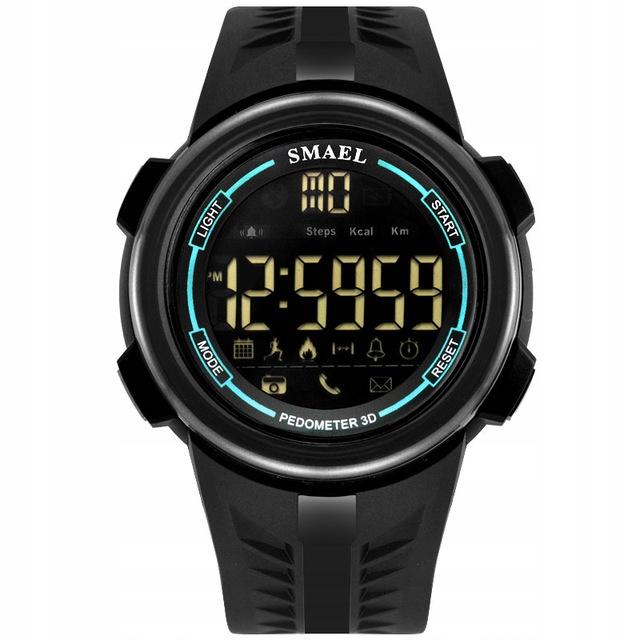 Zegarek męski - SMAEL - Smartwatch bluetooth