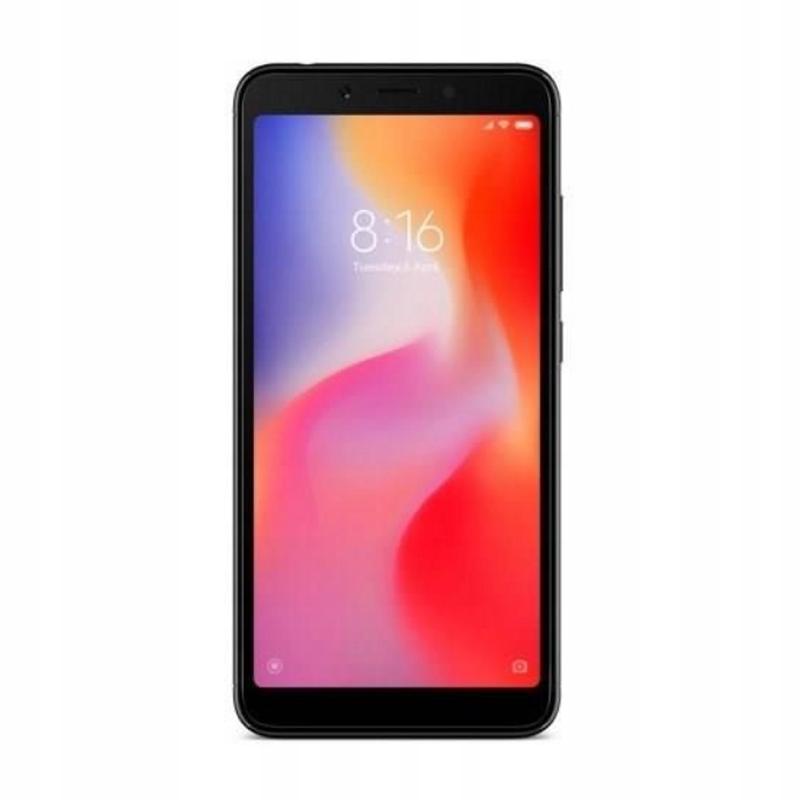 Smartfon Xiaomi Redmi 6 3/64GB Black