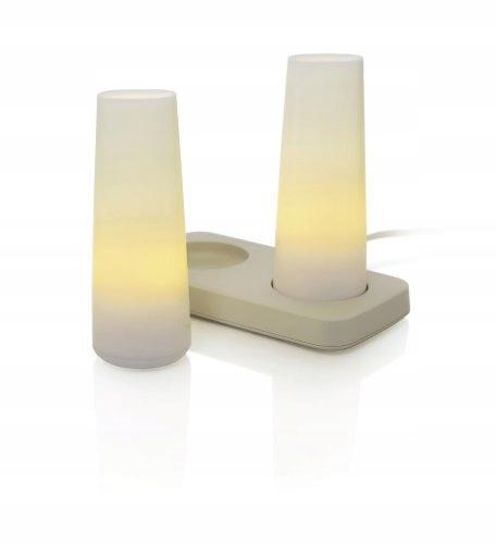 Lampiony LED imitujące świece