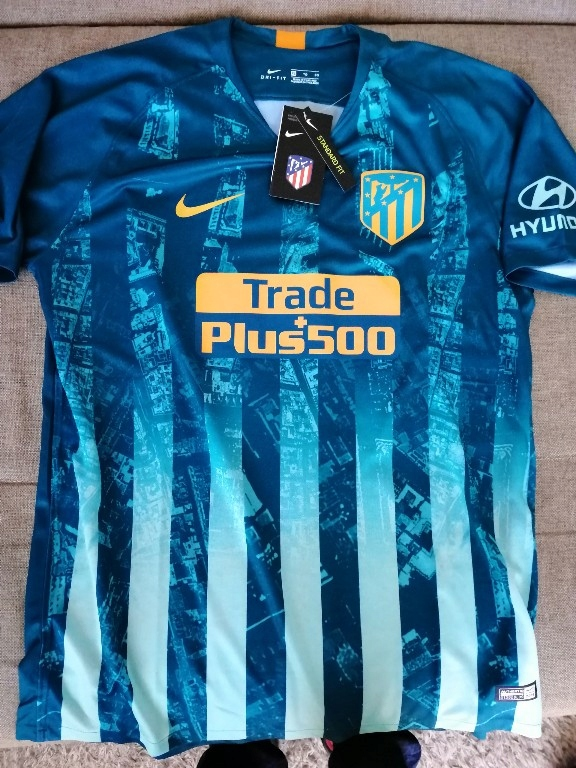 Atletico Madryt XL 3 2018/2019 Messi Griezmann