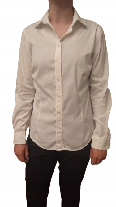 Koszula damska biała Zara L/38 Stan bdb