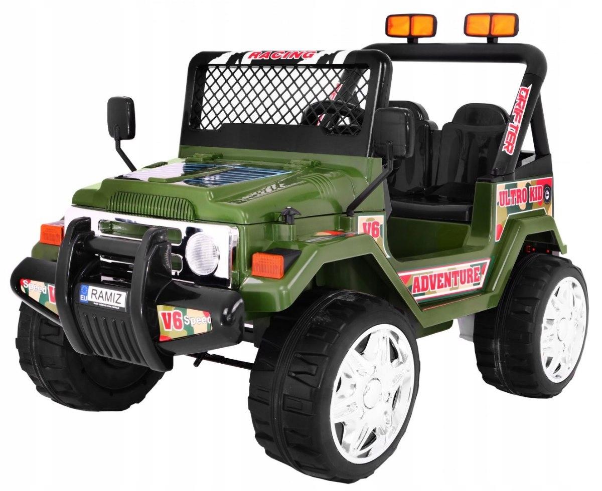 JEEP na akum. RAPTOR Drifter Koła EVA 2.4G Zielony
