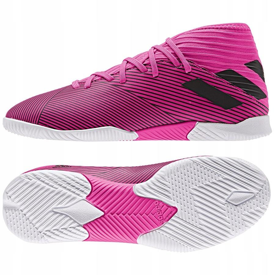 Buty adidas Nemeziz 19.3 IN J F99946 różowy 33!
