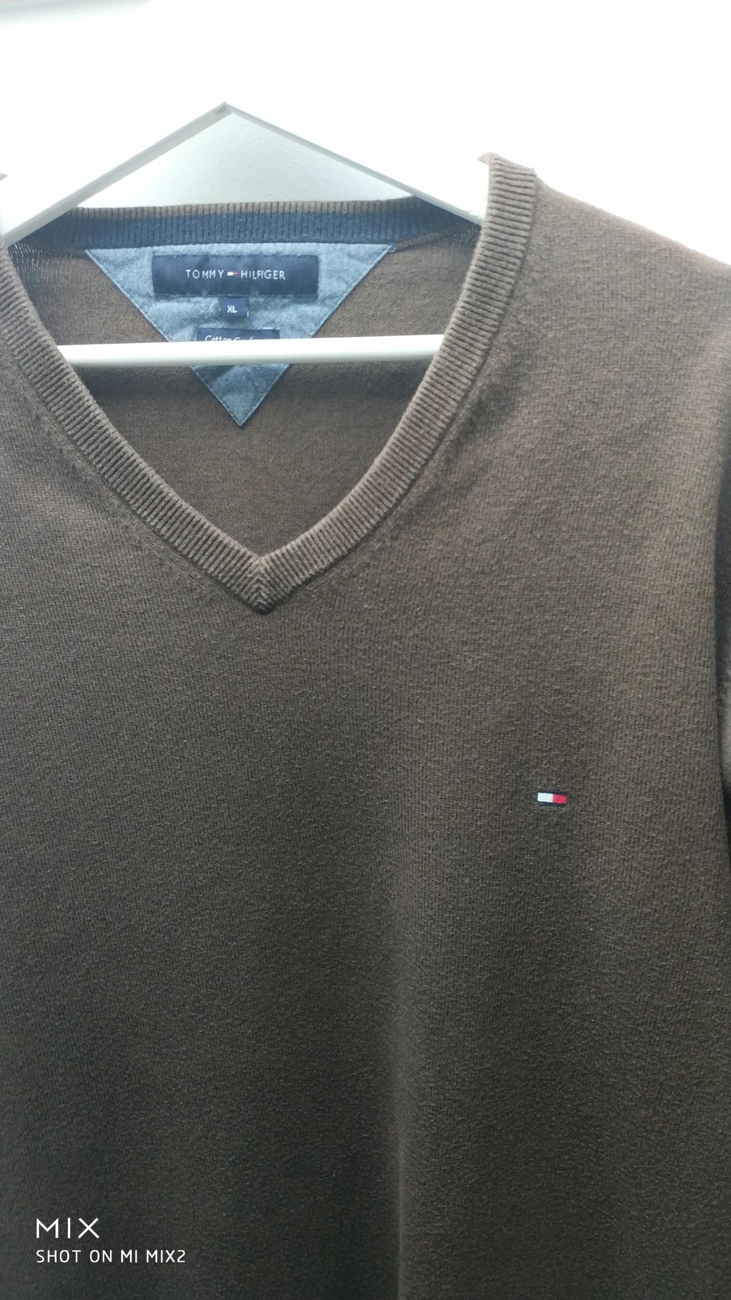 Sweter Tommy Hilfiger ORGINALNY Rozmiar XL