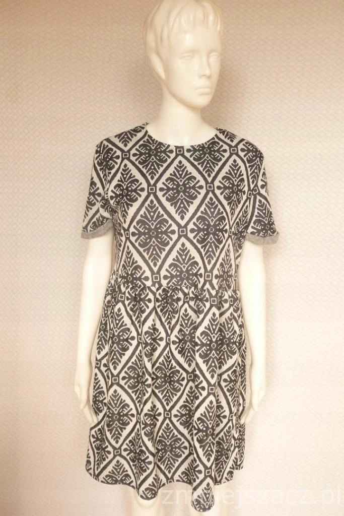 fbf0be3e28 CLUB L rozkloszowana Sukienka L - SUPER CENA! - 7458973156 ...