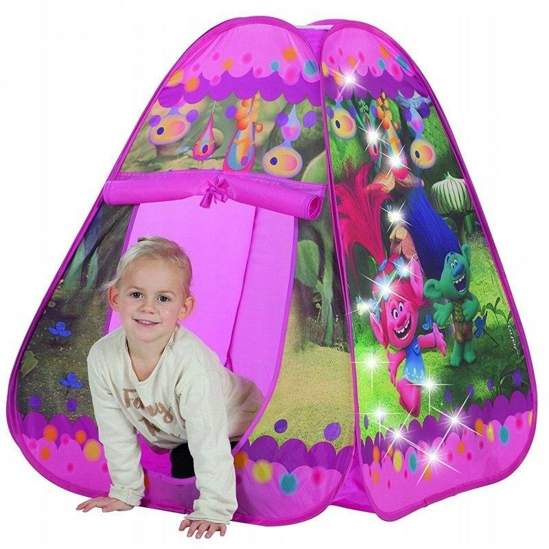 JOHN Namiot Samorozkładający światła LED Trolle