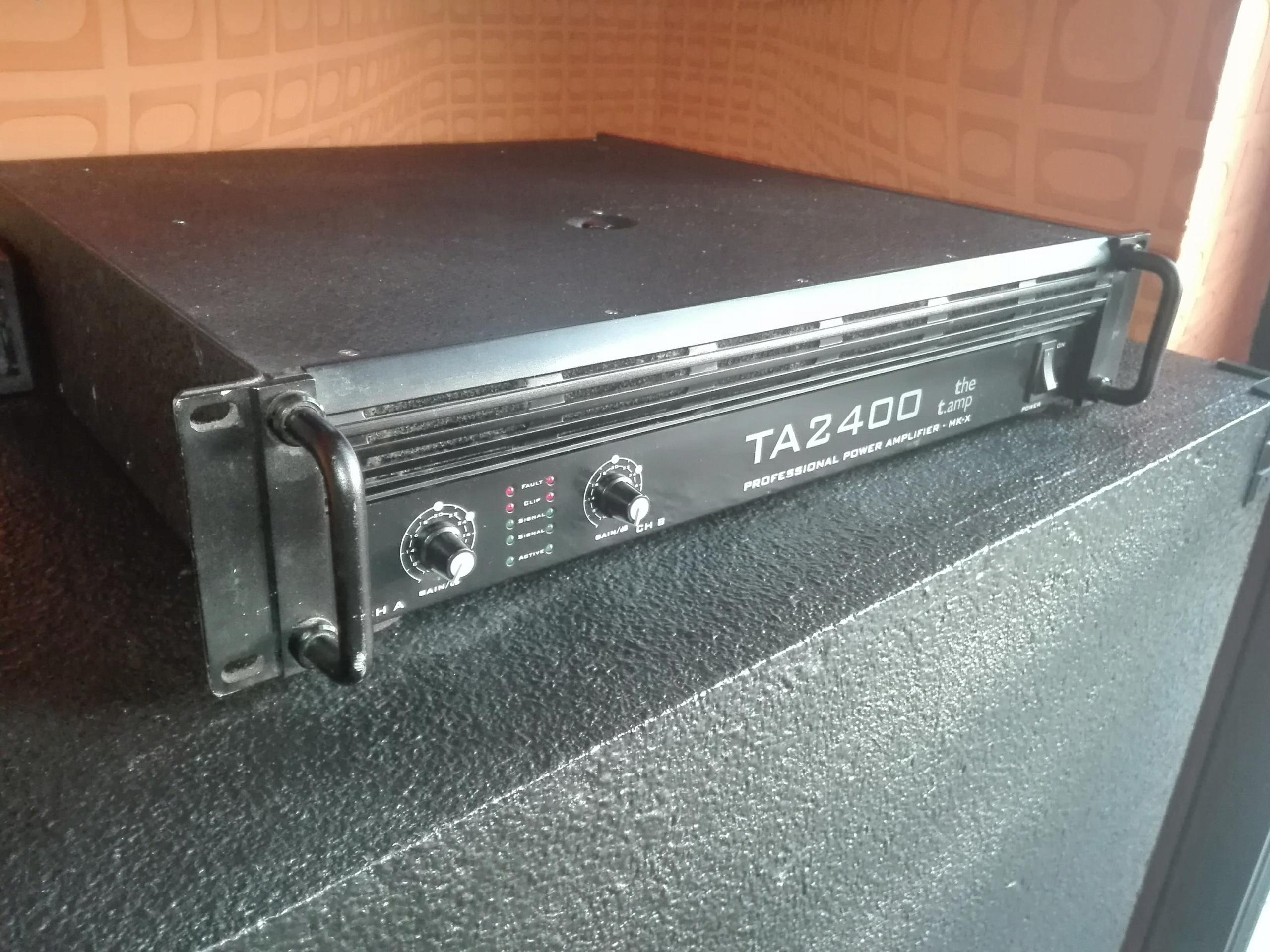 SPRZEDAM WZMACNIACZ MOCY T-AMP2400 MK II