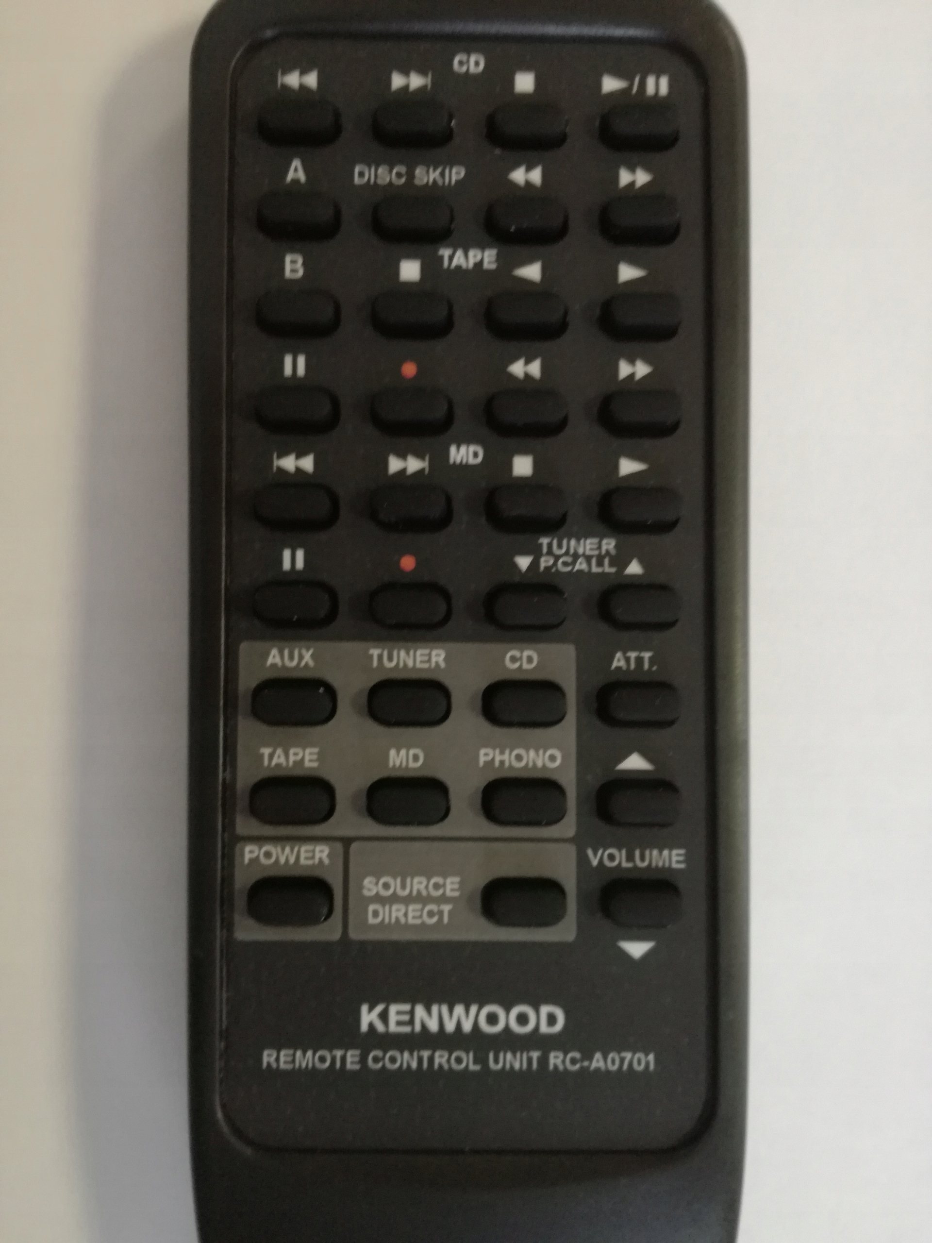 PILOT AUDIO KENWOOD RC-A0701 # NOWY!#
