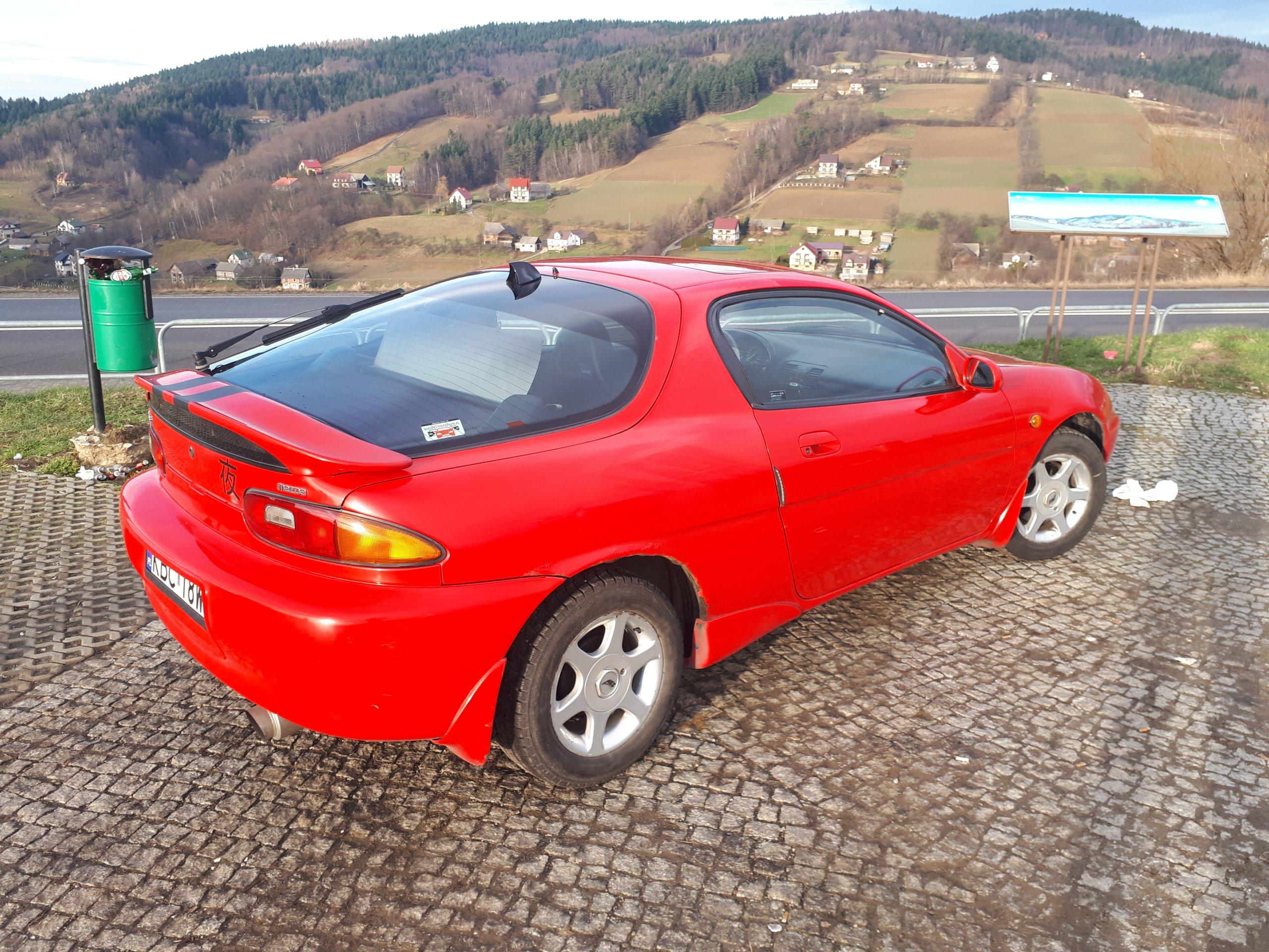 Mazda mx3 1.6