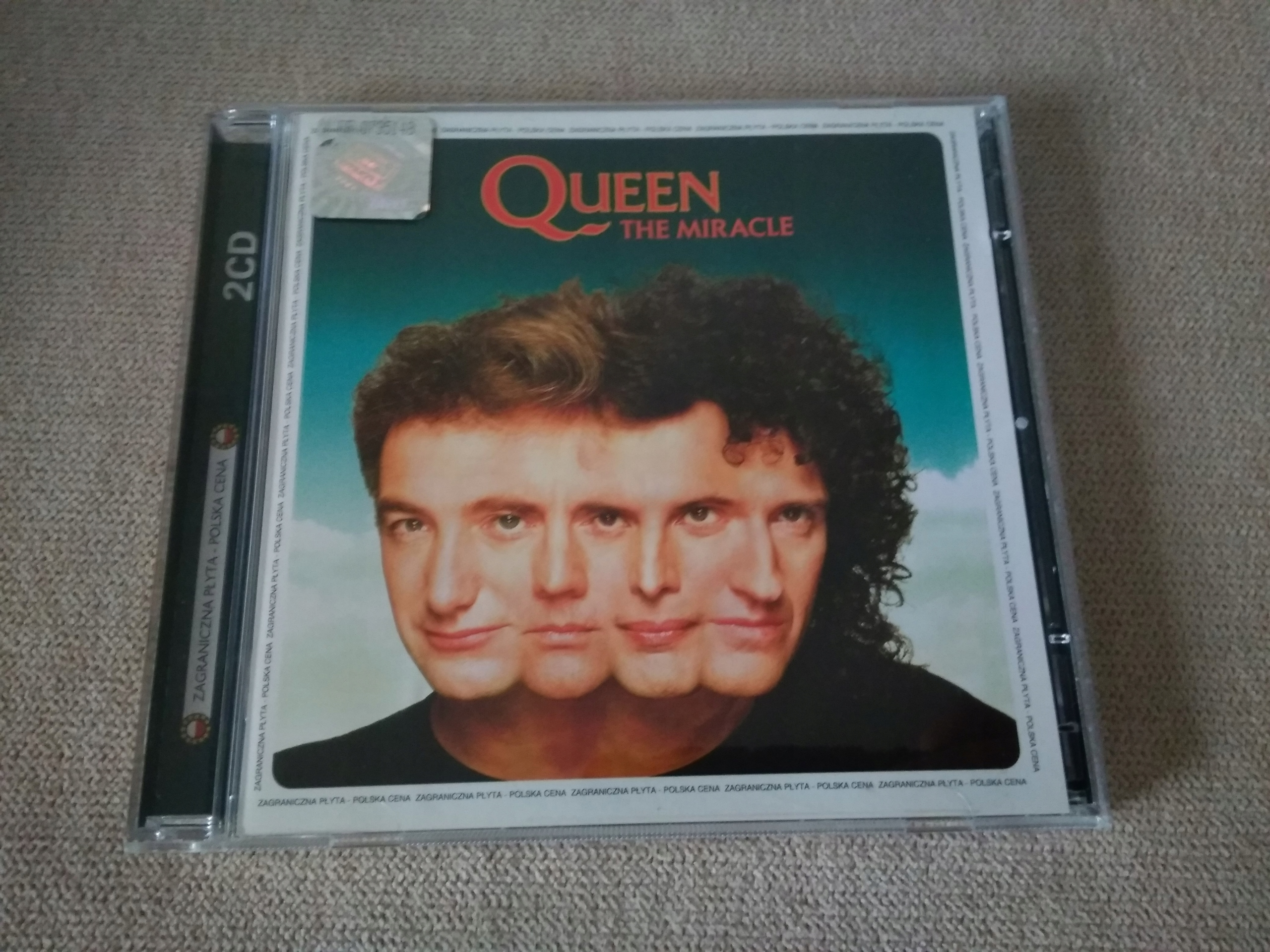 QUEEN THE MIRACLE CD BCM !