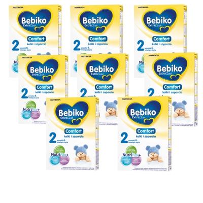 Bebiko Extra Care Comfort 2 ZESTAW 8x350 g