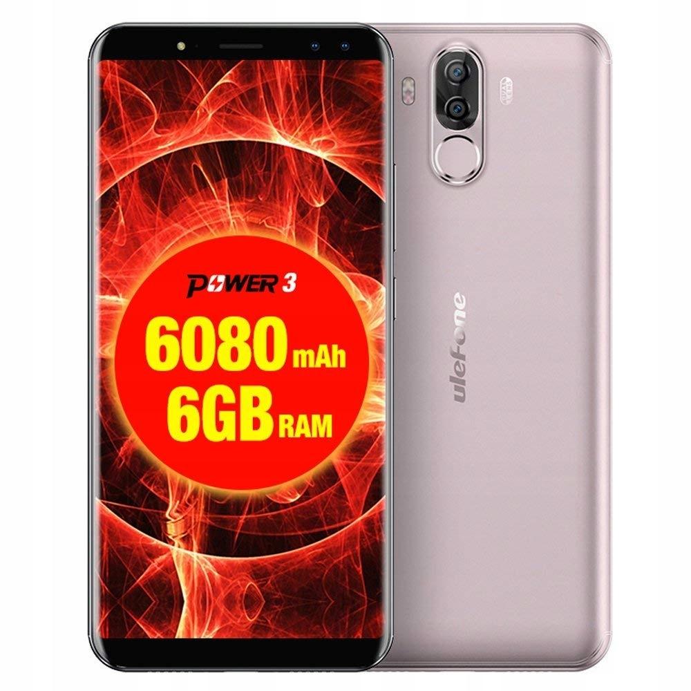 Smartfon Ulefone T1 6/64GB LTE DS USBC +etui/folia
