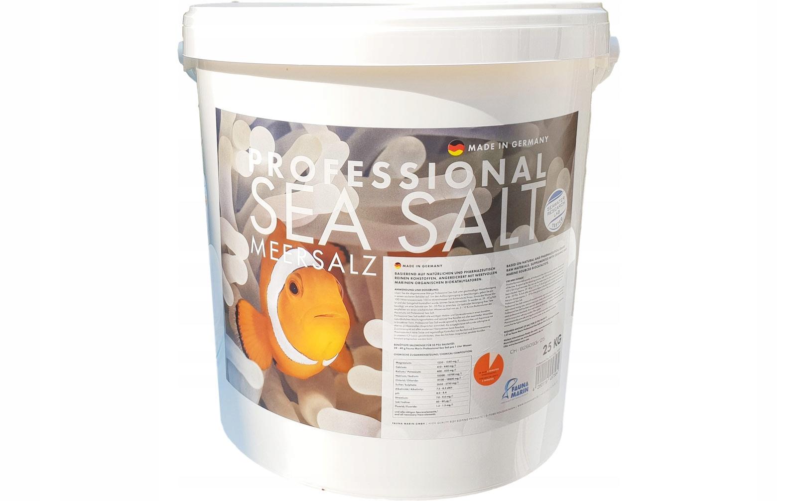 Sól do akwarium - Fauna Marin 25kg