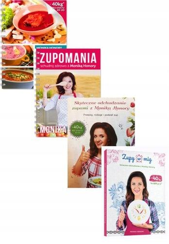 Pakiet 4x Monika Honory Zupy W Mig Zupomania 7827921326