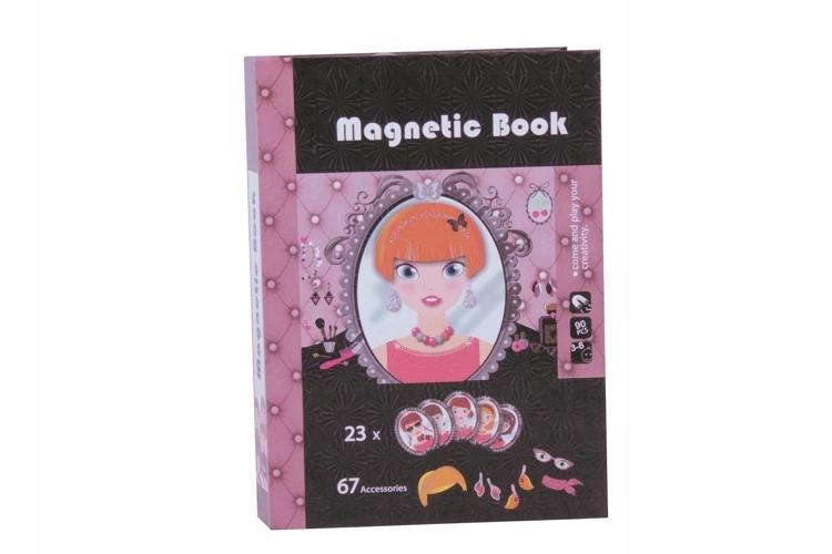 Magnetyczna układanka MODA Magnetic book