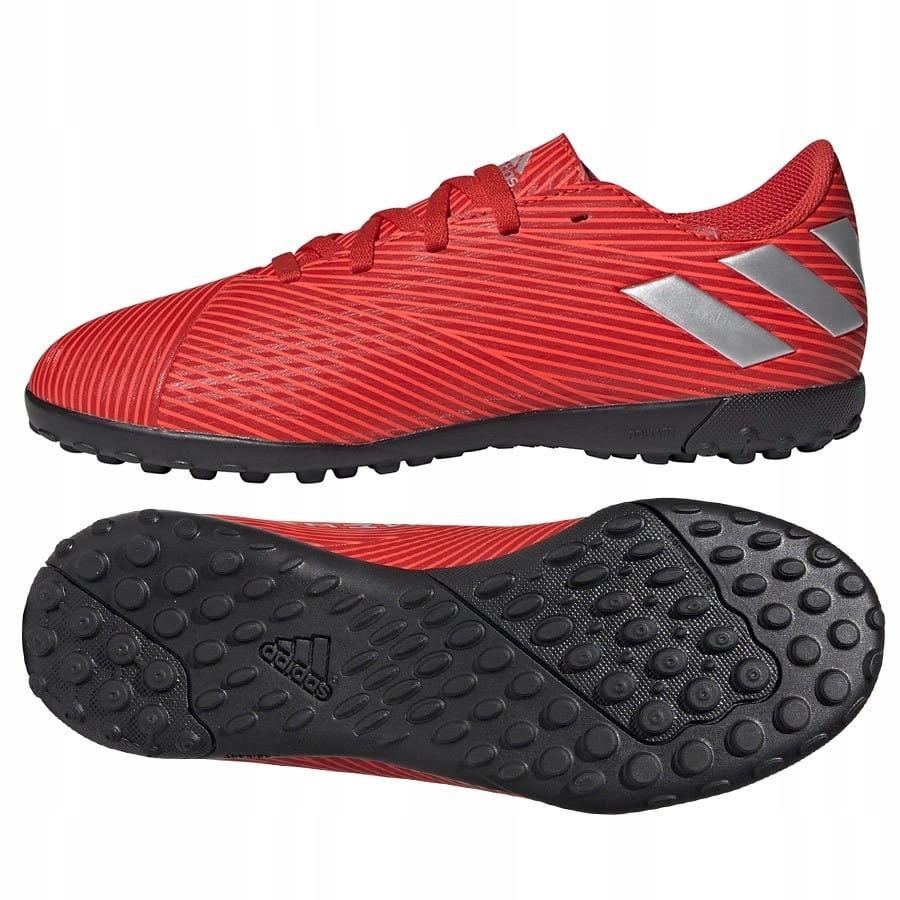 Buty adidas Nemeziz 19.4 TF J F99935 - CZERWONY 32
