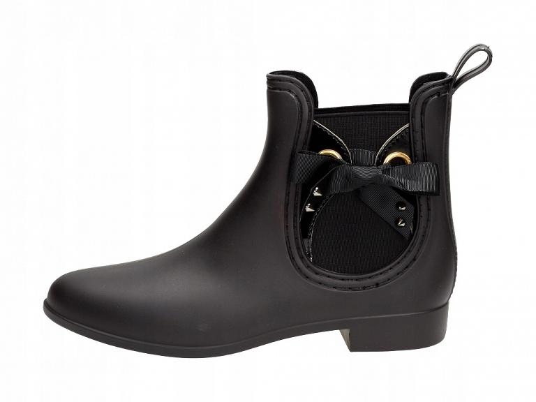 Czarne krótkie kalosze damskie VICES S40-1 MAT r40