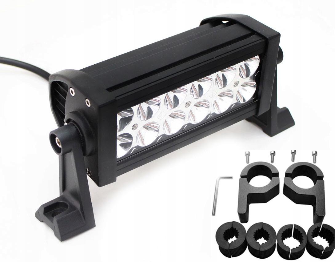 LAMPA ROBOCZA 12 LED 12-24V uchwyty fi: 15-30mm