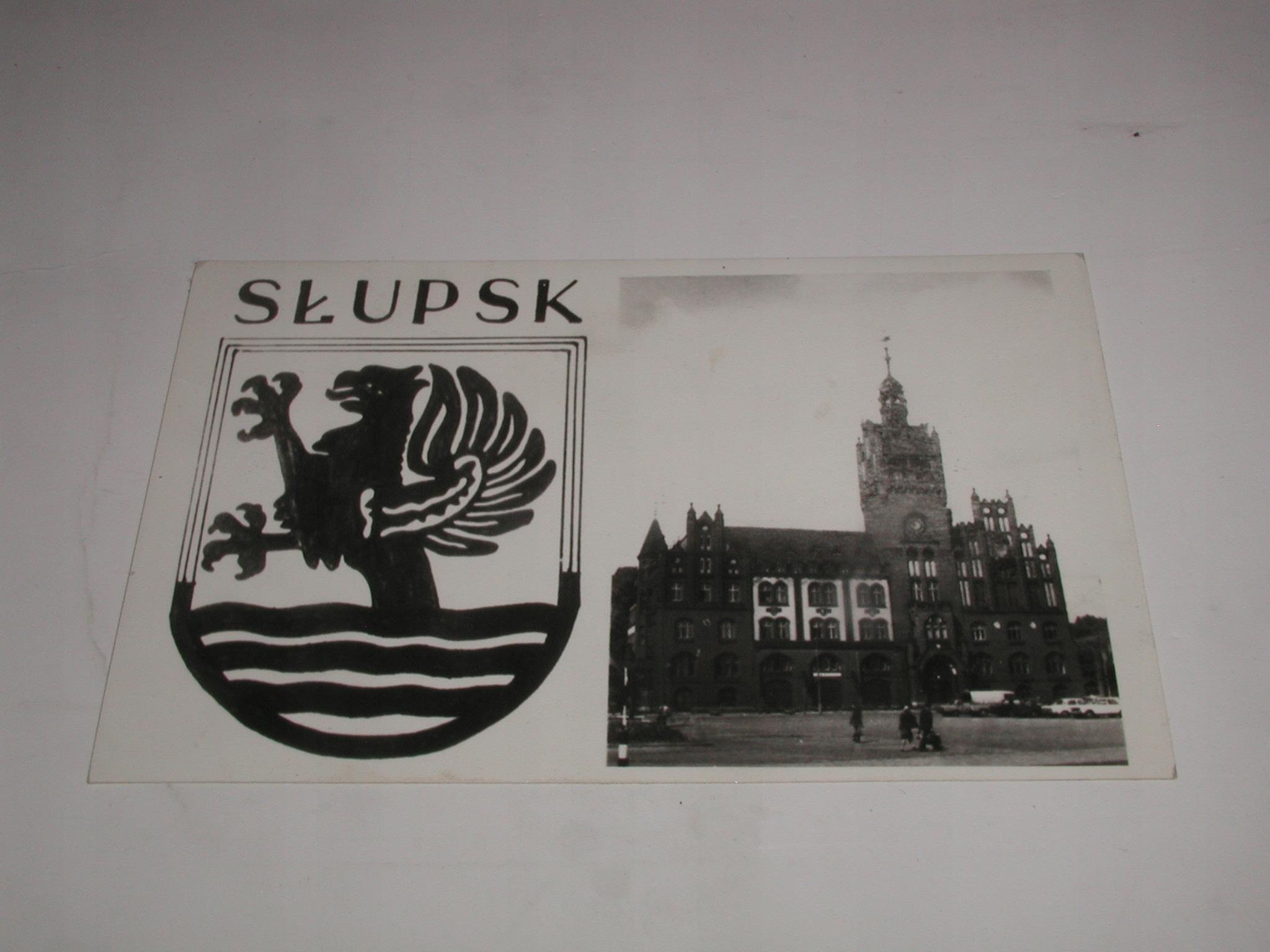 Kartka SLUPSK Zyczenia Wydzialu T KWMO w Slupsku