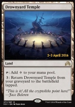 Drownyard Temple Shadows over Innistrad: Promos