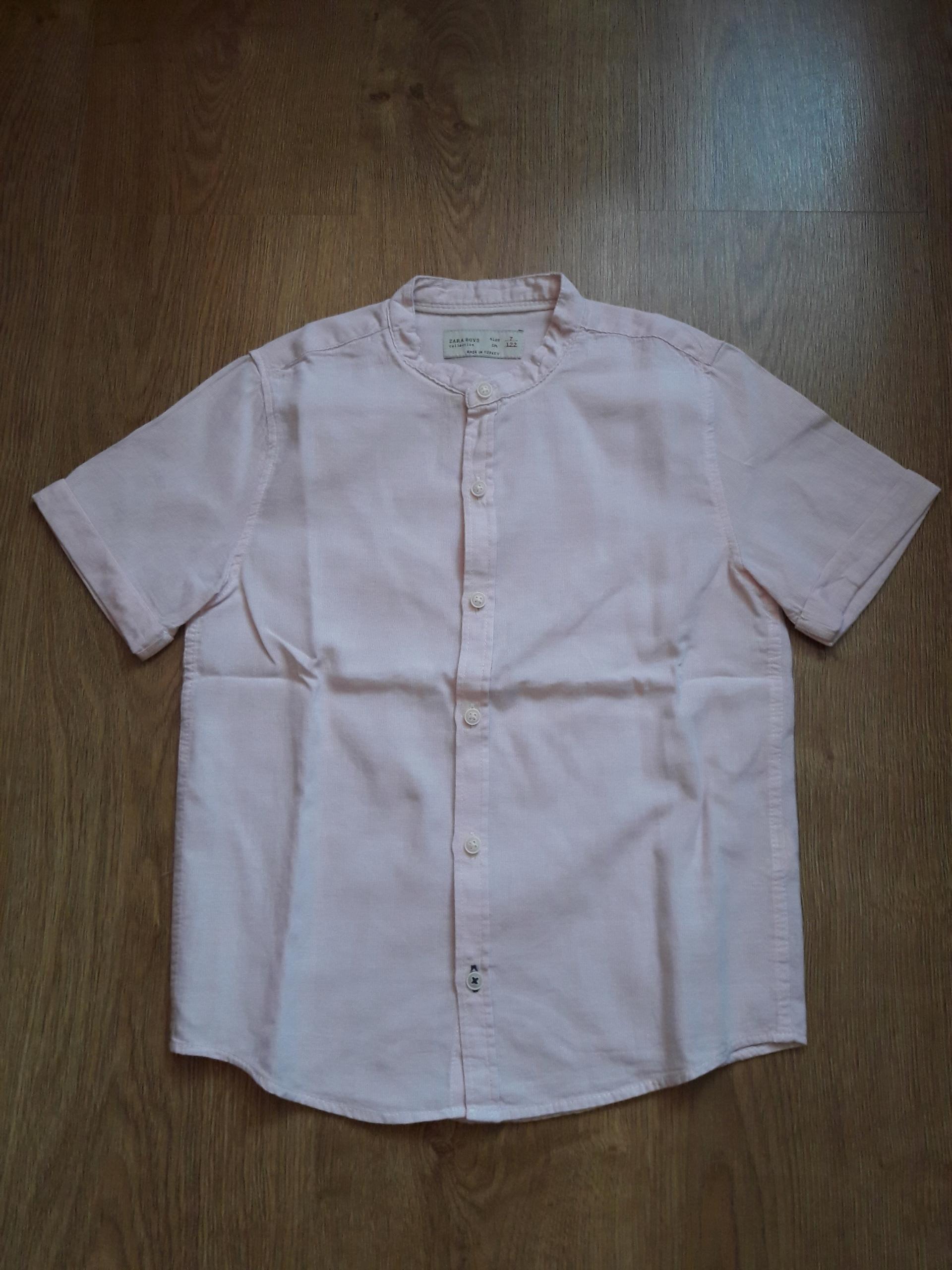 ZARA - koszula ze stójką r.122