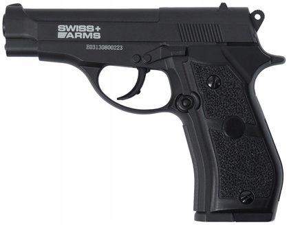 Pistolet wiatrówka rep Beretty M84 metal dodatki