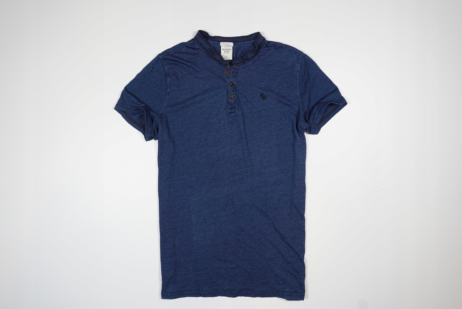ABERCROMBIE FITCH MUSCLE T-SHIRT POLO HOLLISTER _L