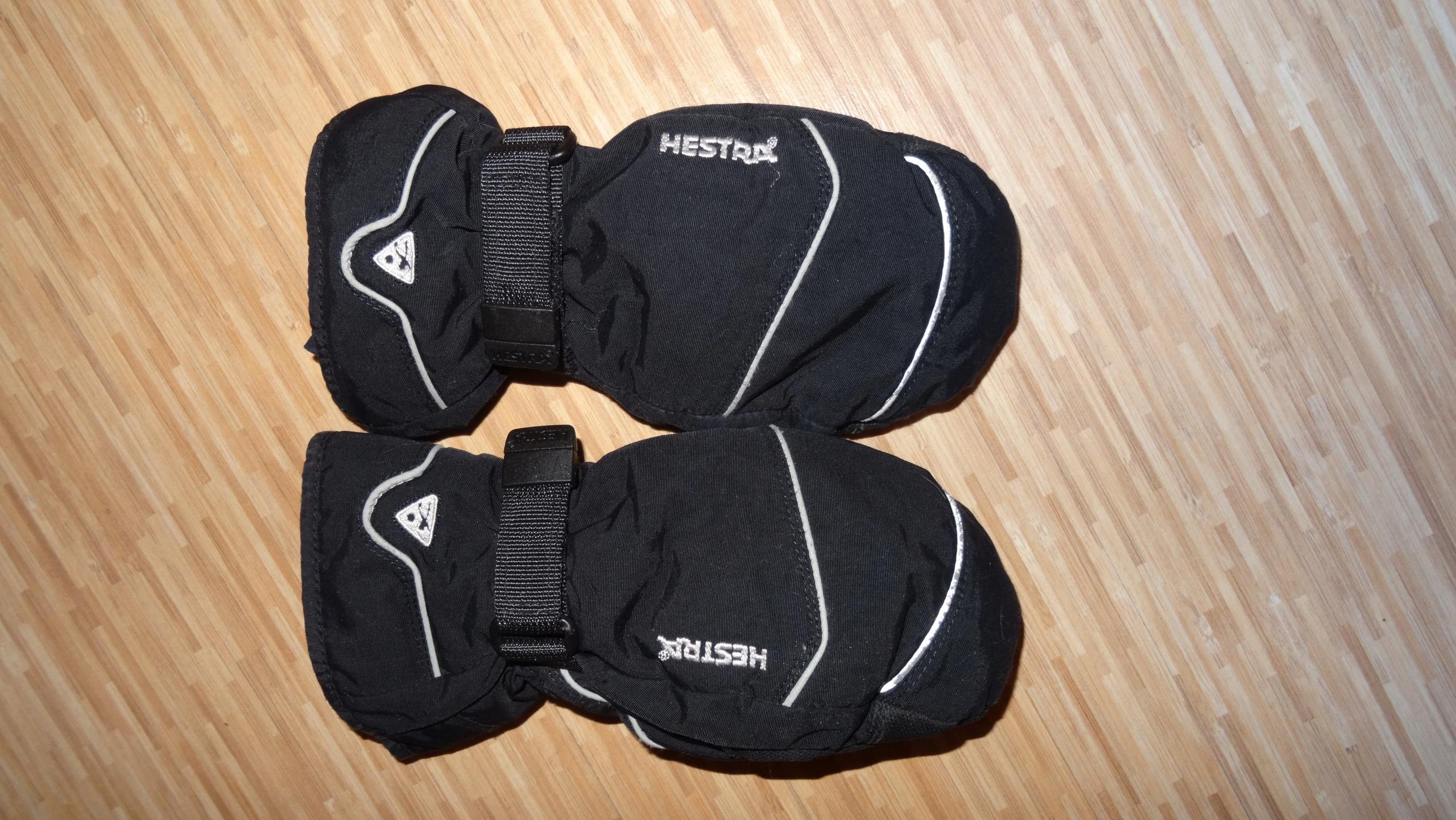 Ocieplane rękawiczki HESTRA na 6 lat BCM