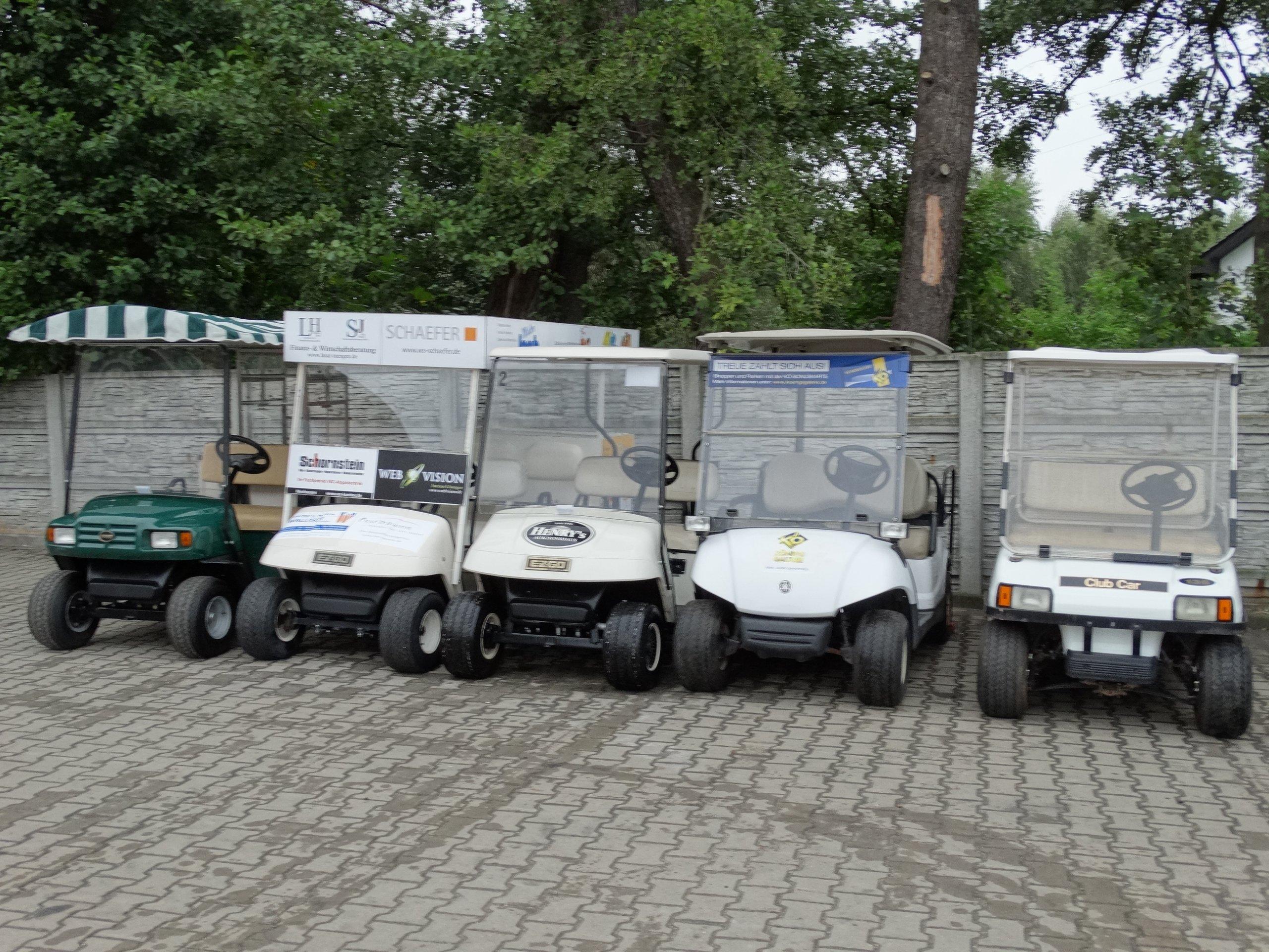 Wózek golfowy spalinowy