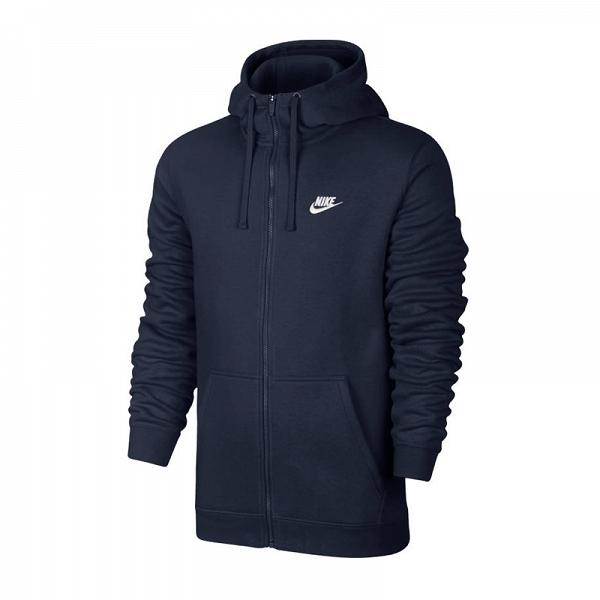Nike NSW Club Hoodie FZ BB Bluza 451 XL -188cm
