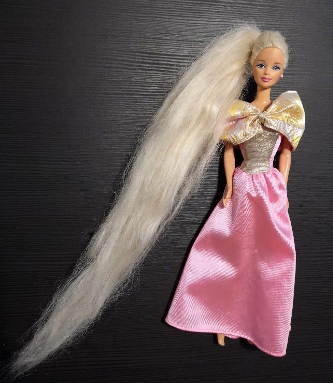 Barbie Rapunzel 1999 rok kolekcjonerska unikat