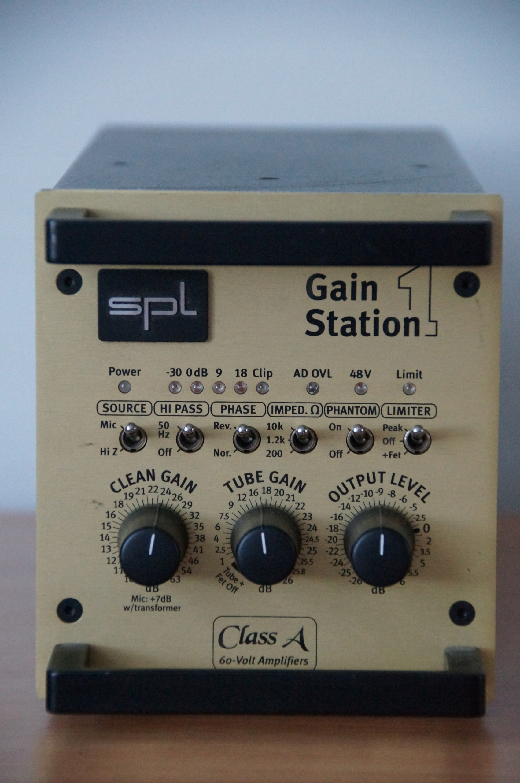 SPL Gainstation 1 AD przedwzmacniacz mikrofonowy
