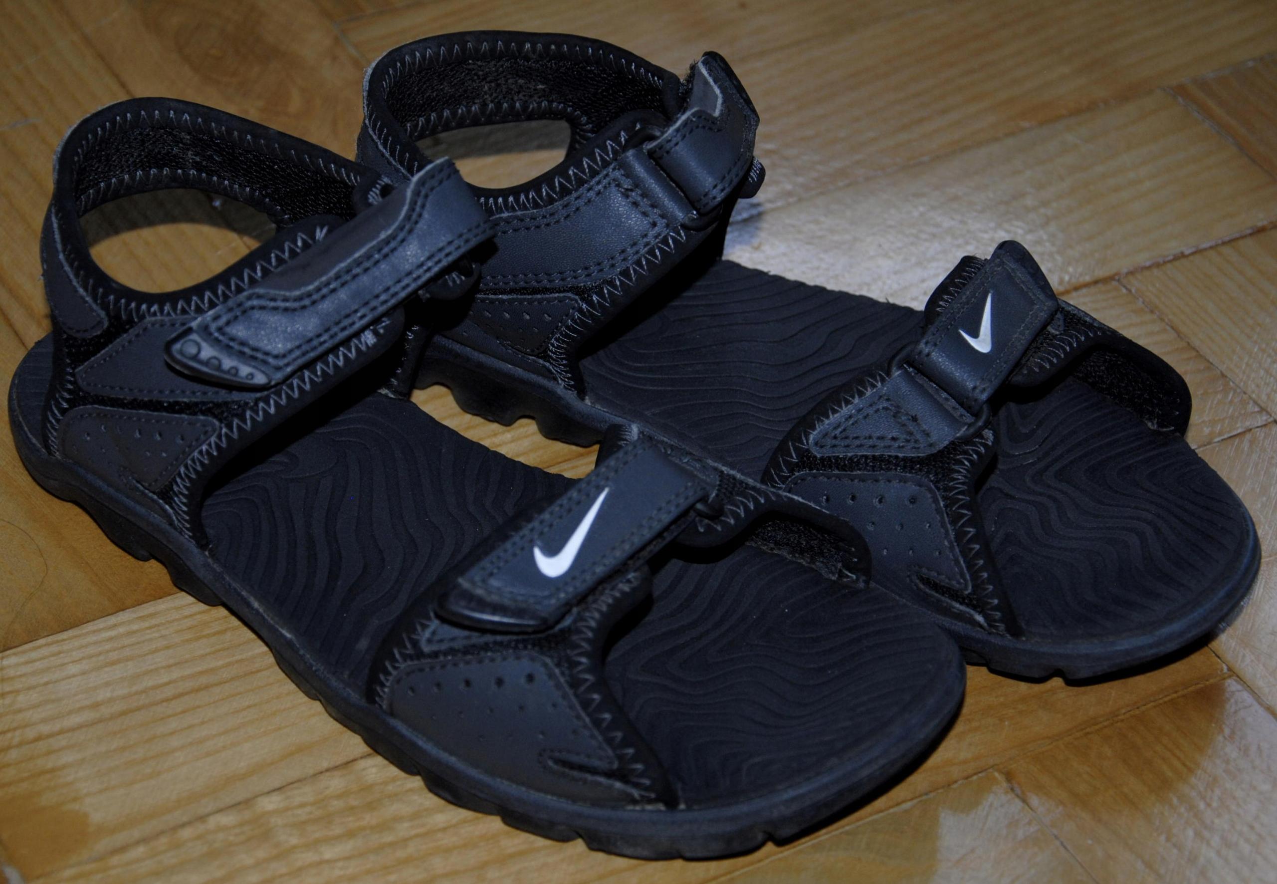 NIKE grafitowe sandały super sandałki 35 -36 23 cm