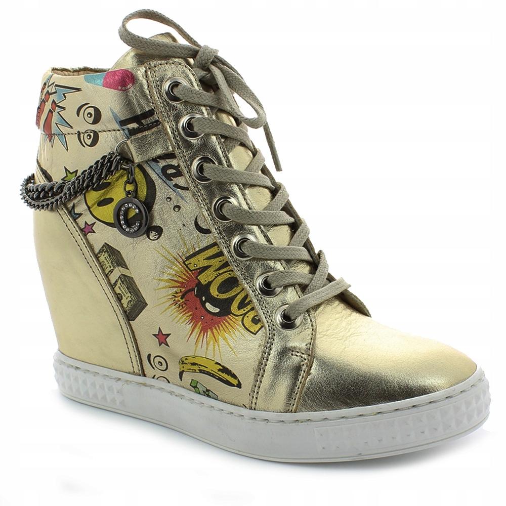 Sneakersy CARINII B3028F-H33-000-000-B88 roz. 40