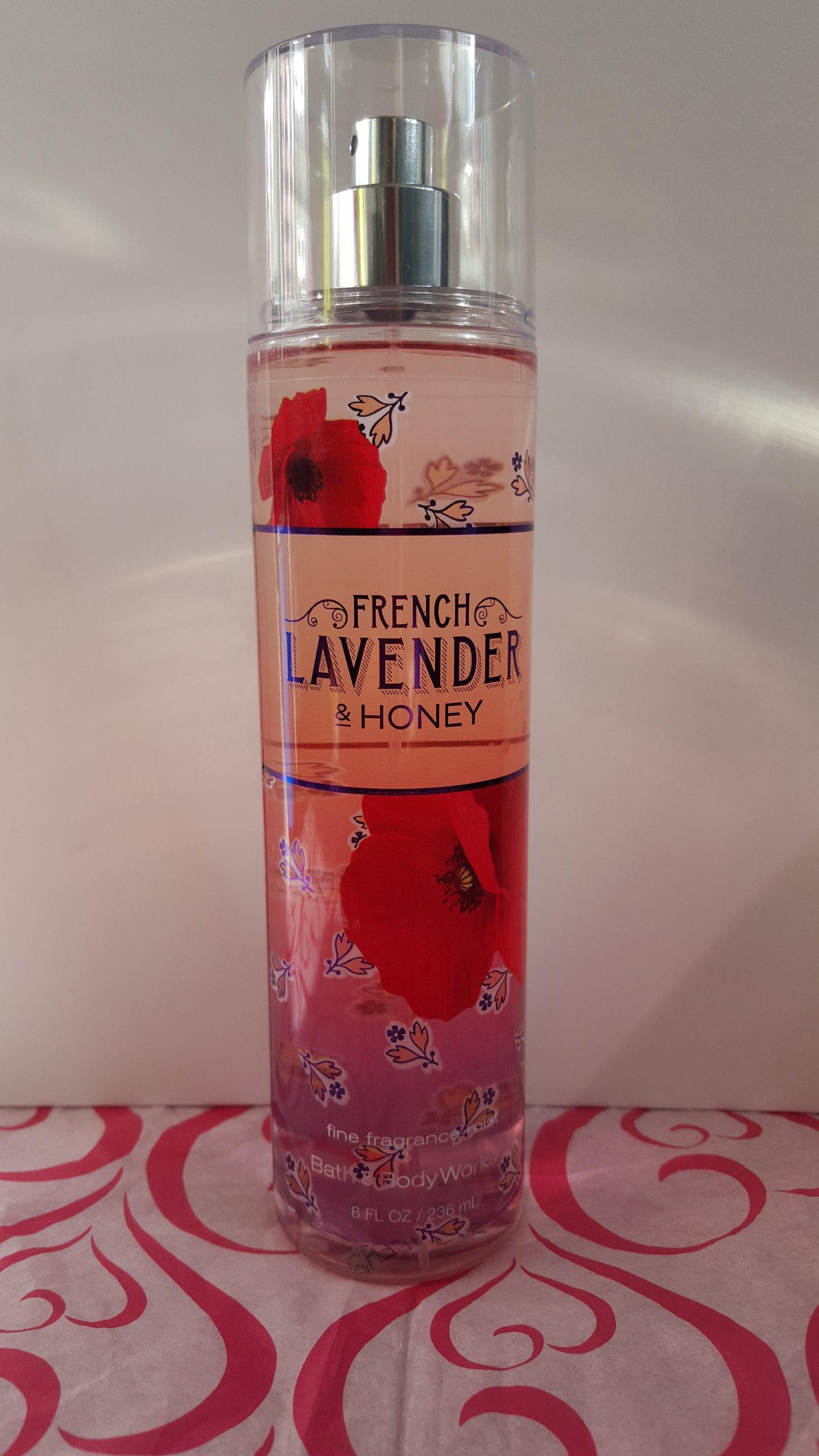 BBW MGIELKA # French Lavender Honey Bath and Body