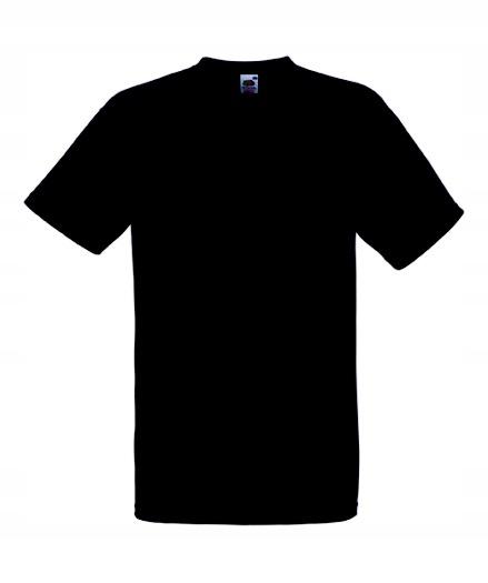 Koszulka FRUIT OF THE LOOM Heavy Black L